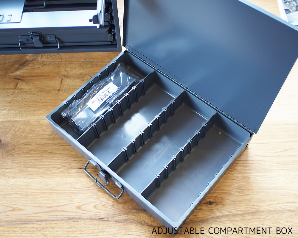 DURHAM | Compartment Box with Rack コンパートメントボックス/仕切りボックス ラック付き