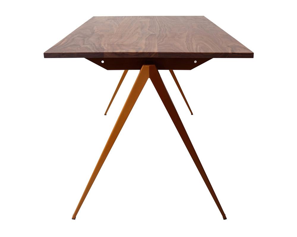 GALVANITAS | TD.4 Table Walnut/R.Brown [2size] ガルファニタスTD.4テーブル ウォールナット/ロームブラウン