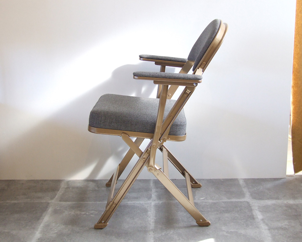 CLARIN | Folding Chair with Arm フォールディングチェア アーム付