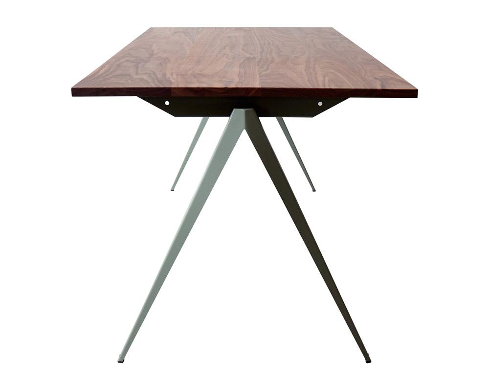 GALVANITAS | TD.4 Table Walnut/C.Gray [2size] ガルファニタスTD.4テーブル ウォールナット/セメントグレイ