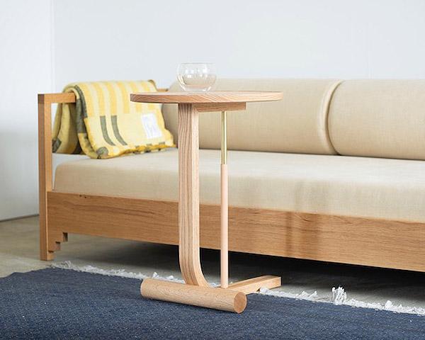 Mokuji Furniture   Side Table モクジ サイドテーブル