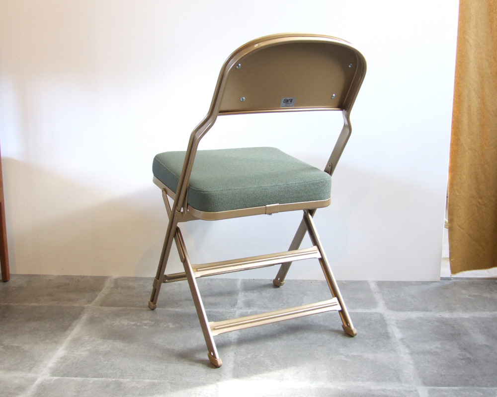 CLARIN | Full Cushion Folding Chair フルクッションフォールディングチェア