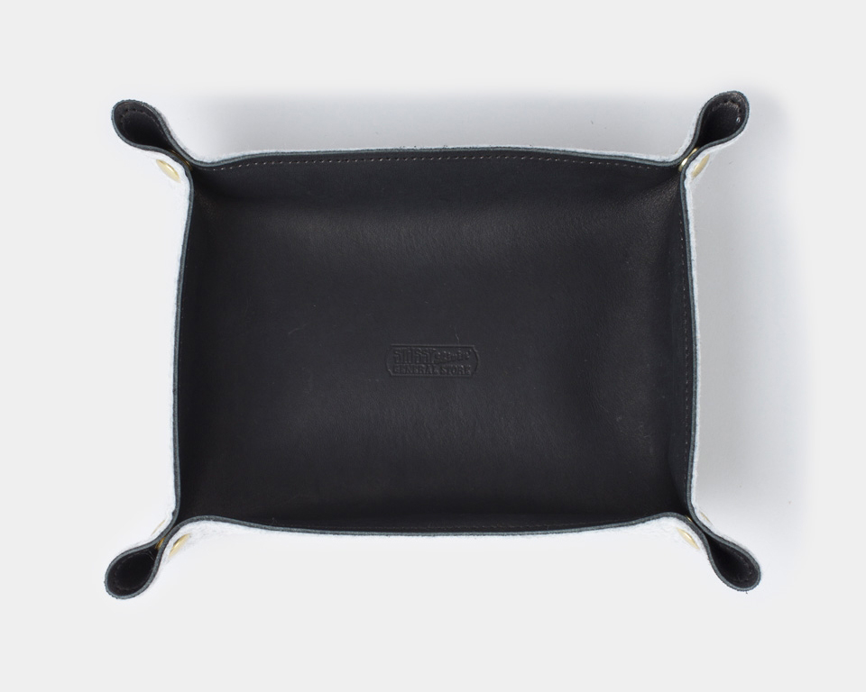 STUSSY Livin' General Store | GS Leather & Felt Travel Tray レザー&フェルトトラベルトレイ