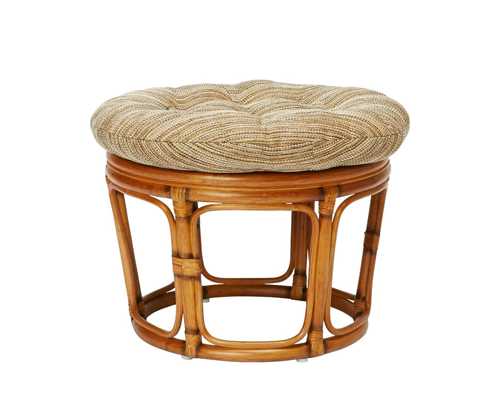 ACME Furniture   WICKER EASY CHAIR / STOOL BEIGE ウィッカーイージーチェア/スツール ベージュ