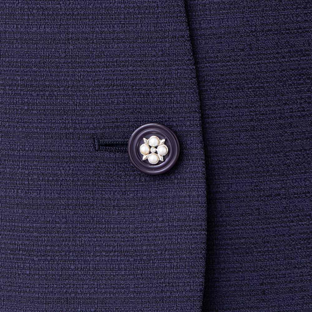 [商品番号2003913]カラーレスジャケット×ジョーゼットワンピースセット