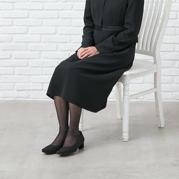 [商品番号1003900]サテン切替えジャケット×フレアーワンピース