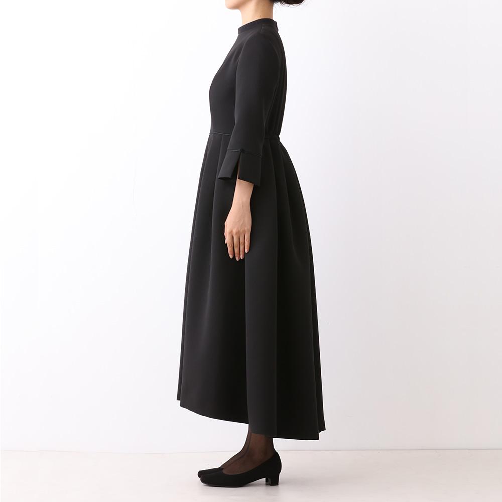 ※予約販売商品 【NE-WI FORMAL】 レースのショール×タックドレス(商品番号1001450-00)