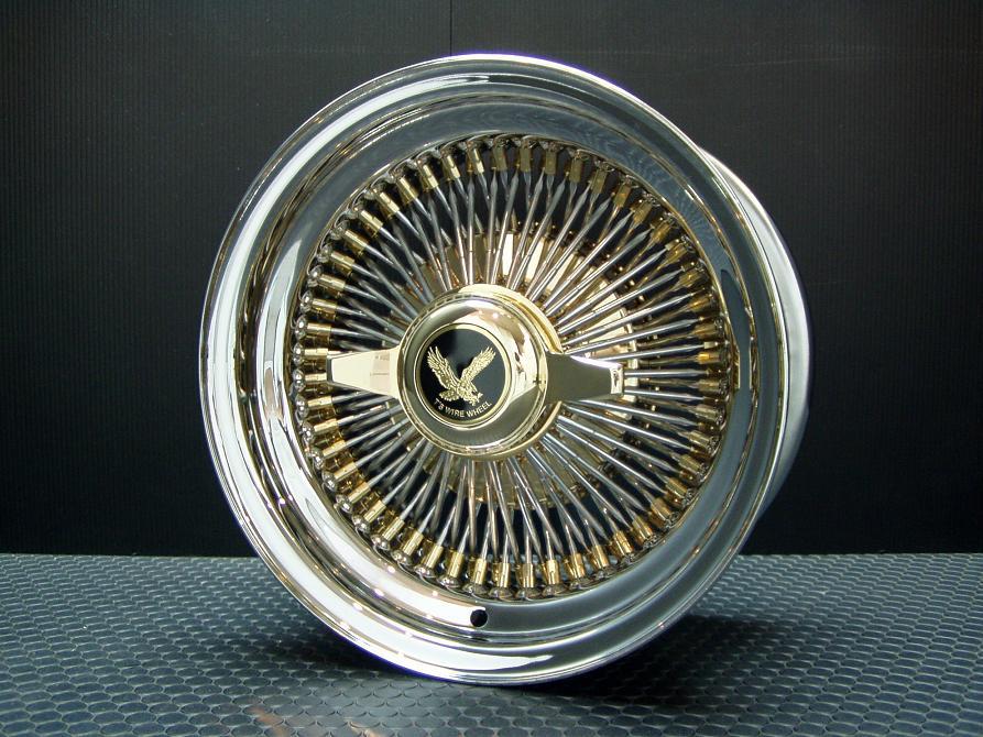 T's WIRE 13X7J STD100SP トリプルゴールド ホイール4本セット