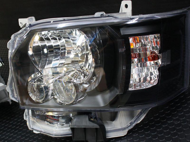 �型 純正タイプ LEDヘッドライト 【レべライザー内蔵】