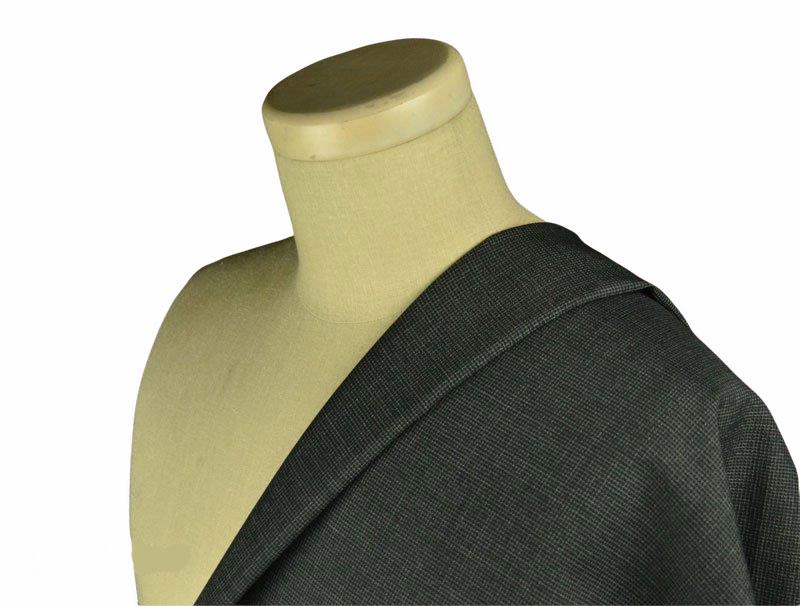 【ジャケット】L614 グレー千鳥格子