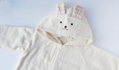 【天衣無縫】 お風呂 うさぎポンチョ