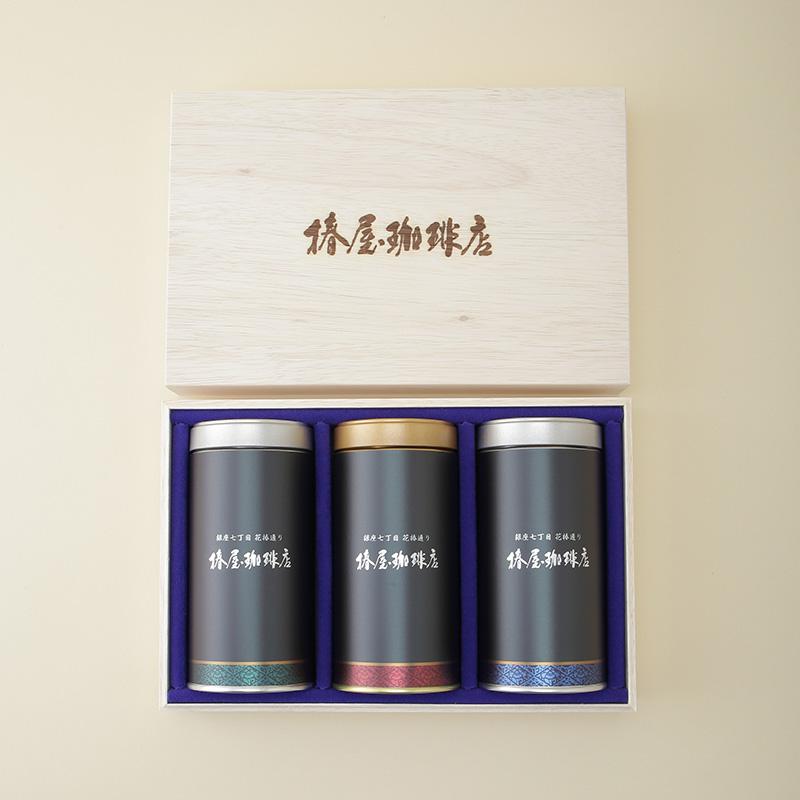【送料無料】 匠の香 (桐箱入り珈琲豆ギフト)