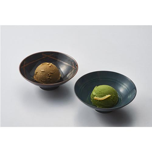 業務用 利休あいすくりーむセット(抹茶、ほうじ茶)(2L×1個×2種)
