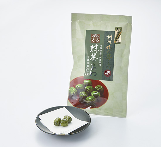 利休侘び茶くるみ 抹茶あめ 70g