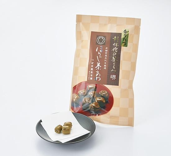 利休侘び茶くるみ ほうじ茶あめ 70g