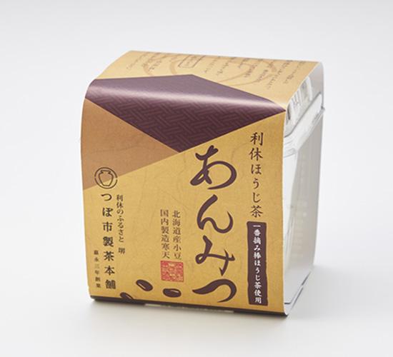 利休抹茶・ほうじ茶 あんみつ 6個詰合せ(化粧箱入り)