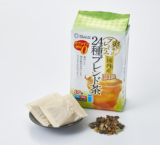 国内産24種ブレンド茶ティーバッグ 4g×32p