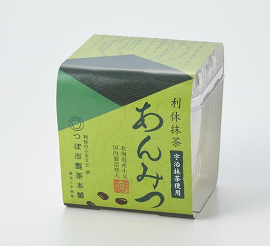 利休抹茶あんみつ 6個詰合せ(化粧箱入り)