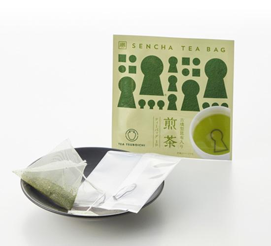 古墳型昆布入り 煎茶ティーバッグ 2g×1p