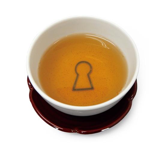 古墳型昆布入り ほうじ茶ティーバッグ 2g×1p
