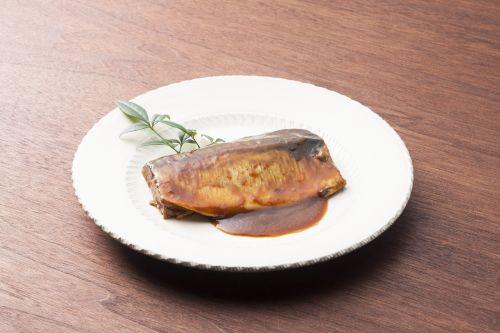 【骨まで食べられる!】 お魚屋さんの定食シリーズ 鯖のとろ旨味噌煮 110.5g