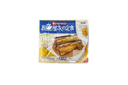 【骨まで食べられる!】 お魚屋さんの定食シリーズ 真いわしのやわらか生姜煮 152g