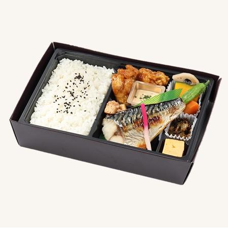 焼鯖西京吟醸漬け&若鶏のチキン南蛮弁当