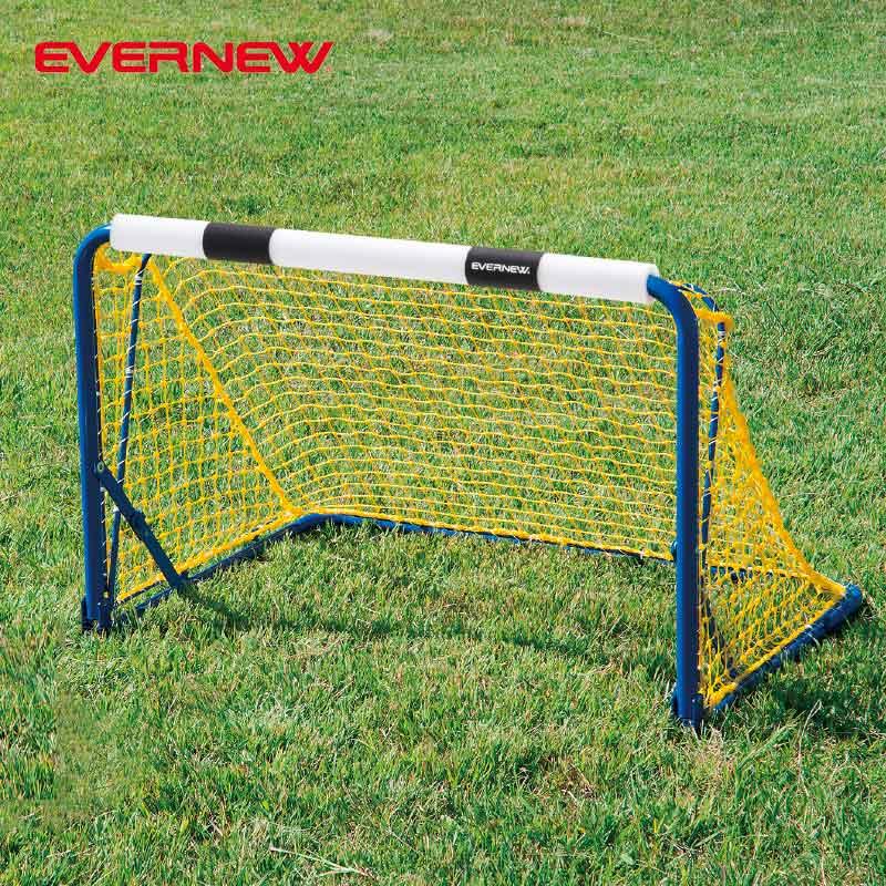子ども用 サッカーゴール 屋外・屋内兼用 軽量 コンパクト エバニュー ミニサッカーゴール折りたたみSP EKD827 EVERNEW