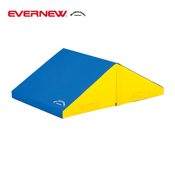 ウレタンマット 子ども運動用 エバニュー ブロックマット三角 EKH185 EVERNEW