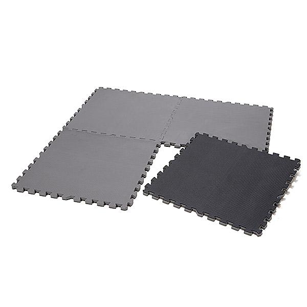 滑り止め付き 業務用マット 厚さ2cm ノンスリップジョイントマット 大判60cm 4枚セット
