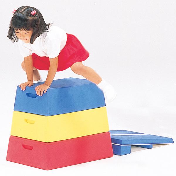 とび箱 軽量なEVA素材 園児のとび箱練習に 年少用とび箱