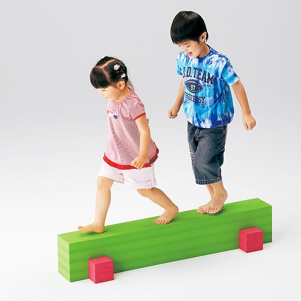 低床型 平均台 年少児用 バランス運動 平均台低床型・20H