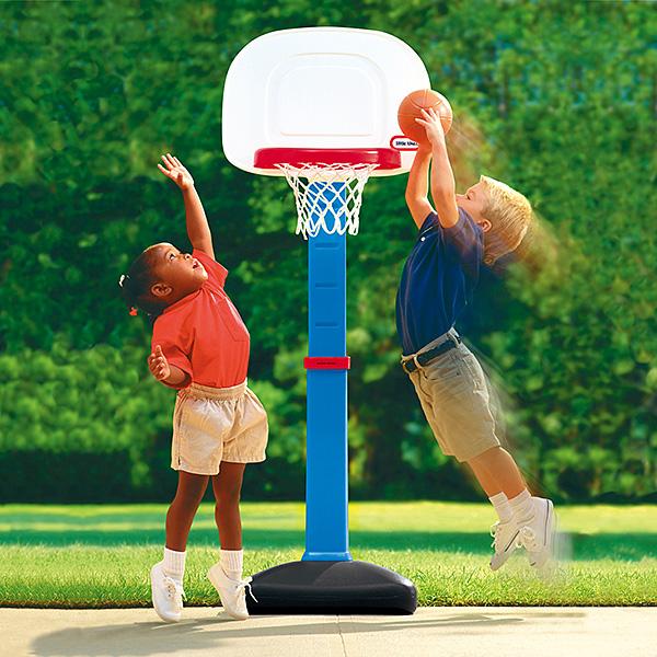 室内・屋外兼用 子供用 バスケットゴール ボール付 リトルタイクス(little tikes)社製 ちびっこバスケットゴール