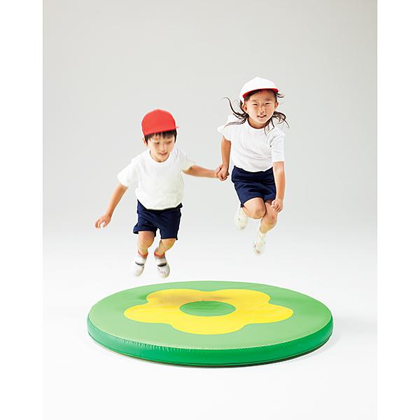 こども用遊具 バランス力やジャンプ力の向上に  ピョンピョントレーニング