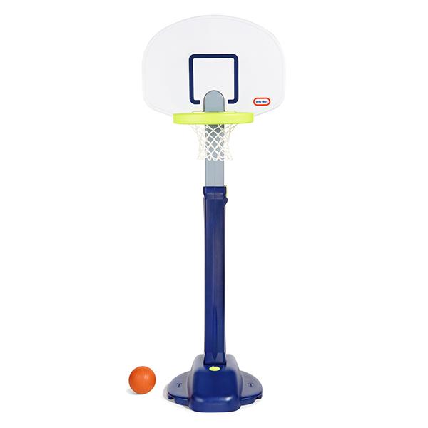 室内・屋外兼用 バスケットゴール 子供用 ボール付 リトルタイクス(little tikes)社製 アジャストバスケットゴール