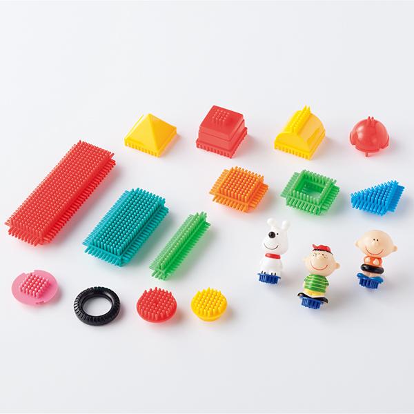 ブロック遊び 子どもの想像力を鍛える ペッタブロック・中セット(240個組)