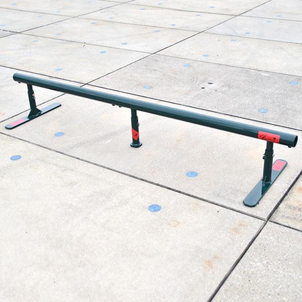 ツムラ スケートボードセクション ストリート スケートボードレール 丸パイプ【送料無料】