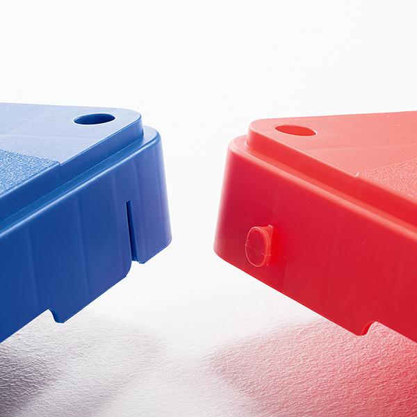 バランス運動やステップ運動に 自由に使えるブロックセット ジョイントステップブロック(9個組)