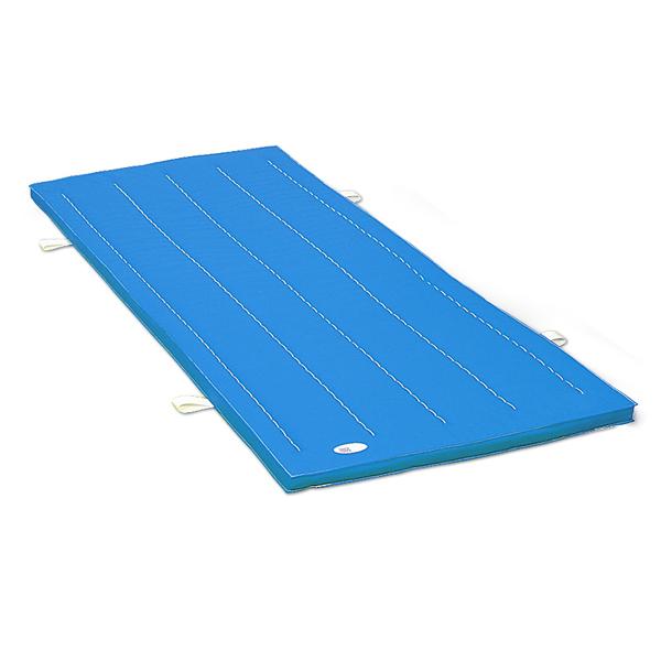 体操マット 滑り止め付 エステル カラーマット 体操教室などで使える カラー 体操マット SGマーク付 120×600×厚5cm