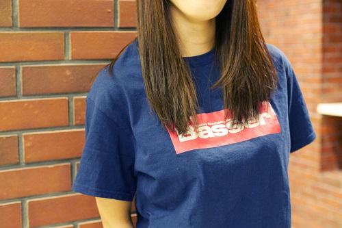 【予約受注再開しました。】Basser ボックスロゴTシャツ
