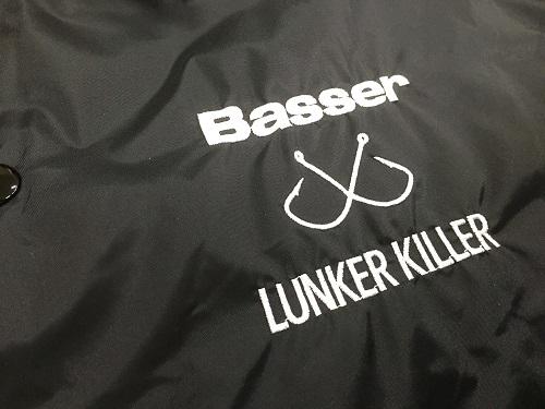 Basser×LUNKER KILLER コーチジャケット