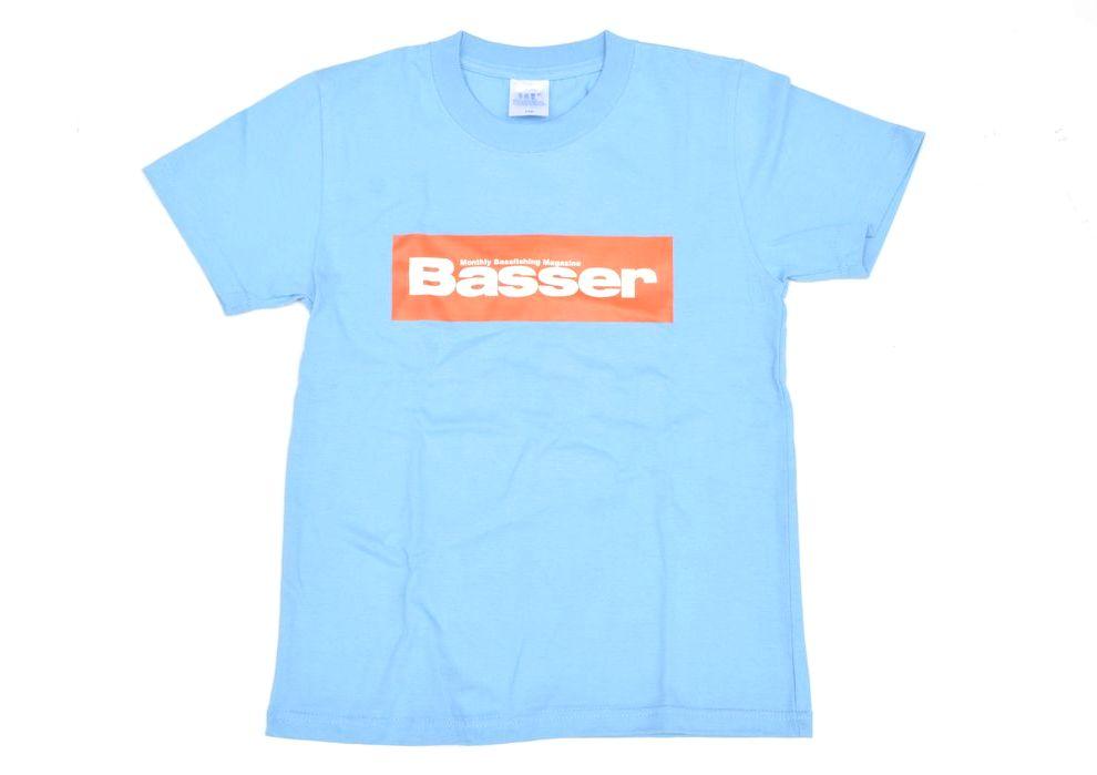 【予約受注再開しました。】キッズ用 Basser ボックスロゴTシャツ