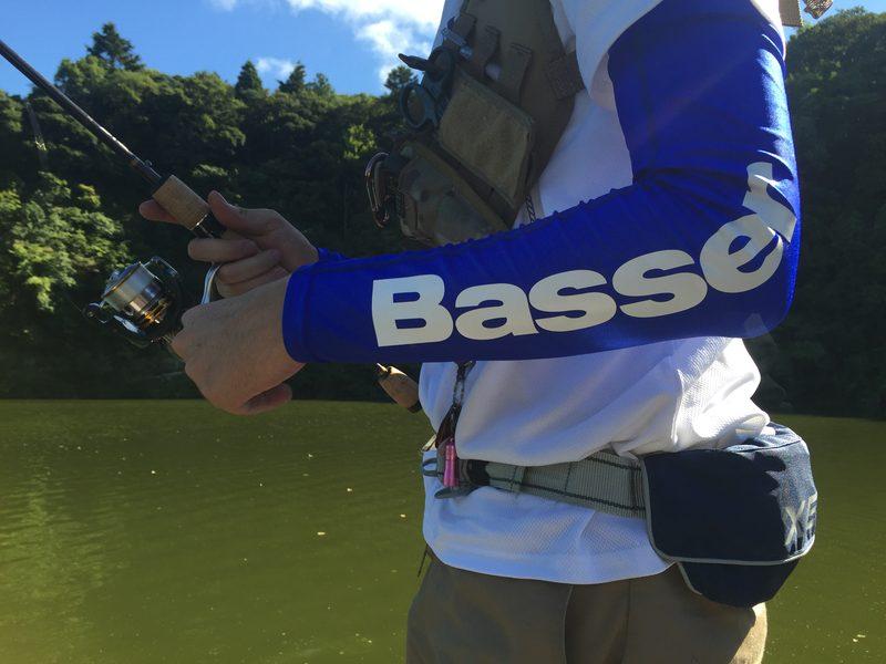 釣り人道具店×Basser/Basserアームカバー