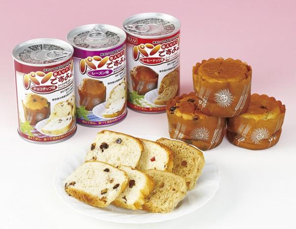 パンの缶詰 パンですよ チョコチップ味×24個 5年保存