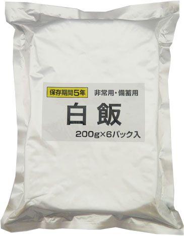 備蓄用白飯 200g×6パック×6袋(計36食) 越後製菓