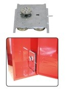 消火器格納箱 ベル付 スチール製 20型1本用