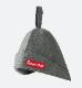 Saunner Box Logo Sauna Hat Gray