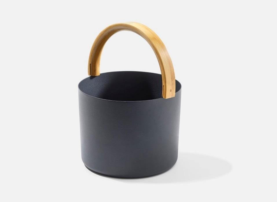 KOLO Bucket+Ladle Black