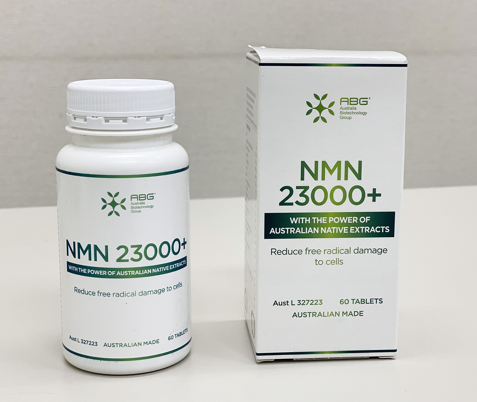 【特価SALE】ABG社製 NMNサプリ「NMN 23000+」60錠入【送料込み】