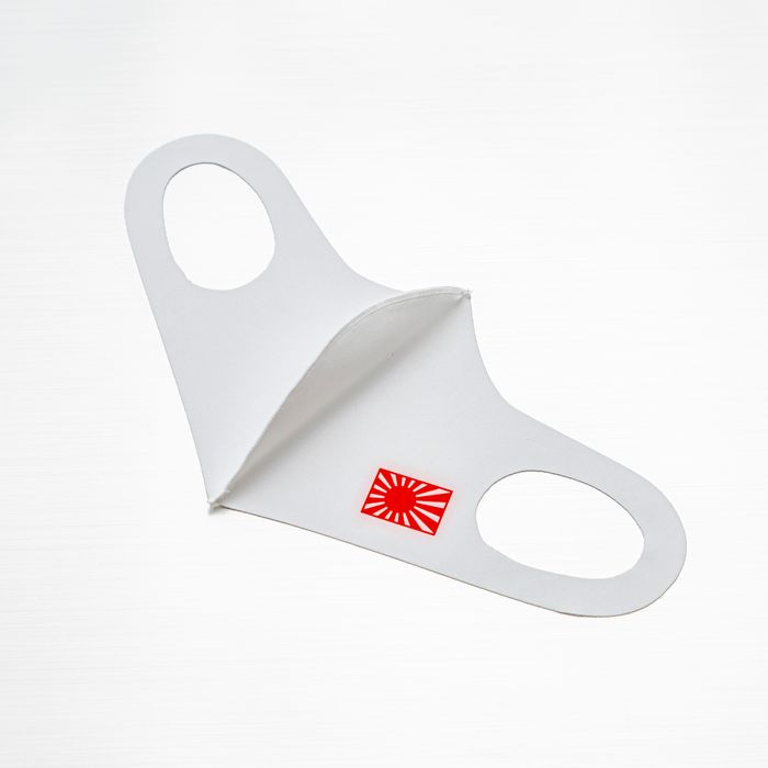 吸水速乾マスク(日章旗・旭日旗ロゴ入り)